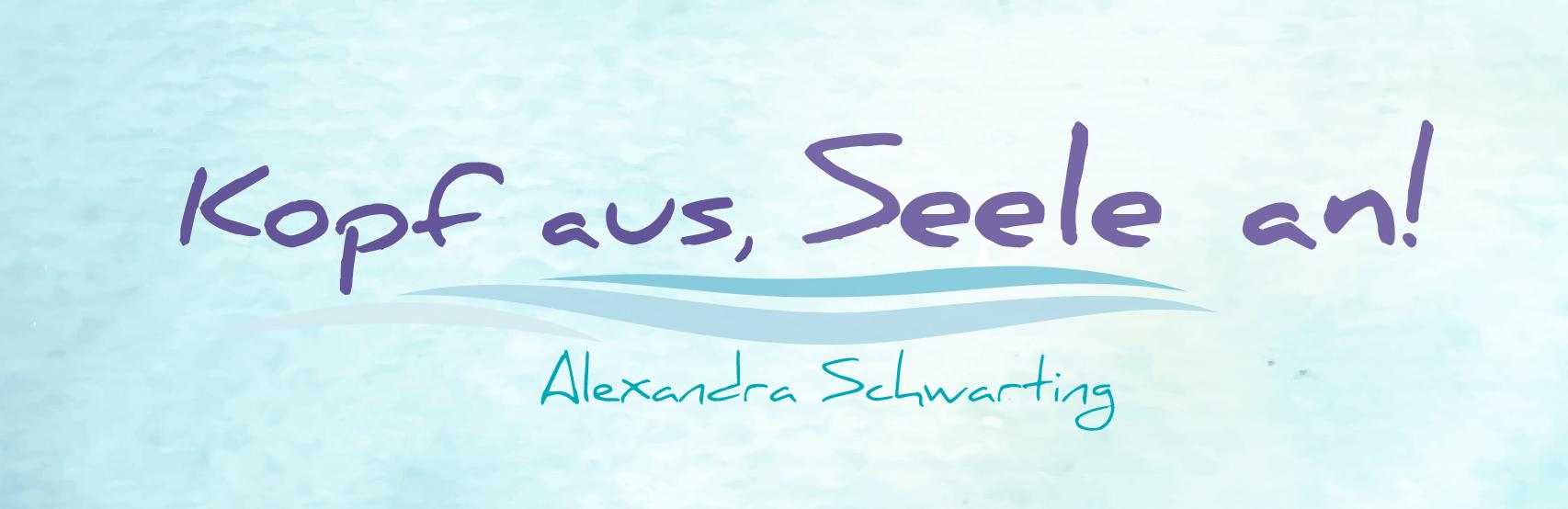 Alexandra Schwarting – Freie Autorin